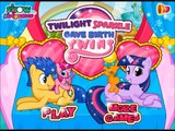 Watch & Enjoy Twilight Sparkle Gave Birth Baby Twins Movie Episode-New Baby Birth Games