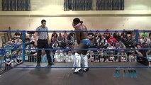 Candice LeRae Crazy Flipping Piledriver To Cedric Alexander - Absolute Intense Wrestling