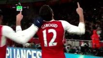 Le but phénoménal d'Olivier Giroud contre Crystal Palace (SFR Sport)