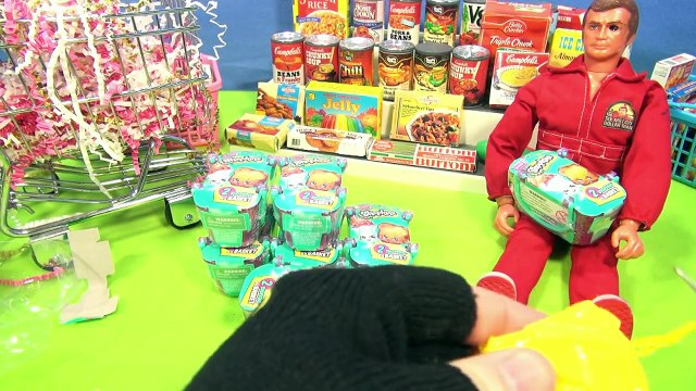 Shopkins Season 3 - Surprise Shopping Cart From Lucky Penny Shop!