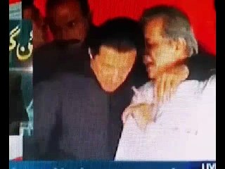 Reaction Of Sheikh Rasheed On Javed Hashmi & Imran Khan Fight
