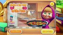 Masha & the Bear Cooking Tortilla Pizza - Masha & the Bear Cooking Girls Games