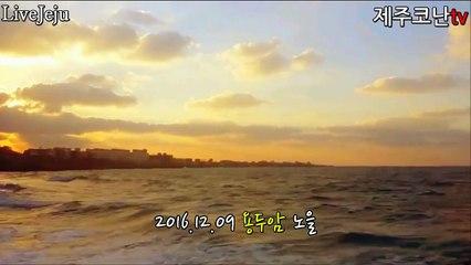 [제주도코난tv]제주도명품노을 용두암