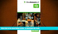 """Audiobook  The Elements of Nlp (The """"Elements of..."""" Series) Carol Harris For Kindle"""