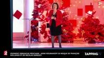 Vivement dimanche : Anne Roumanoff dézingue les adieux de François Hollande et Nicolas Sarkozy