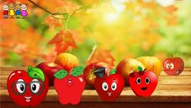 Baby Rhymes   Tomato- Brinjal-Watermelon-Gorilla Finger Family Cartoons   Family Rhymes