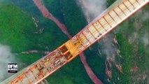 Le pont le plus haut du monde est chinois !