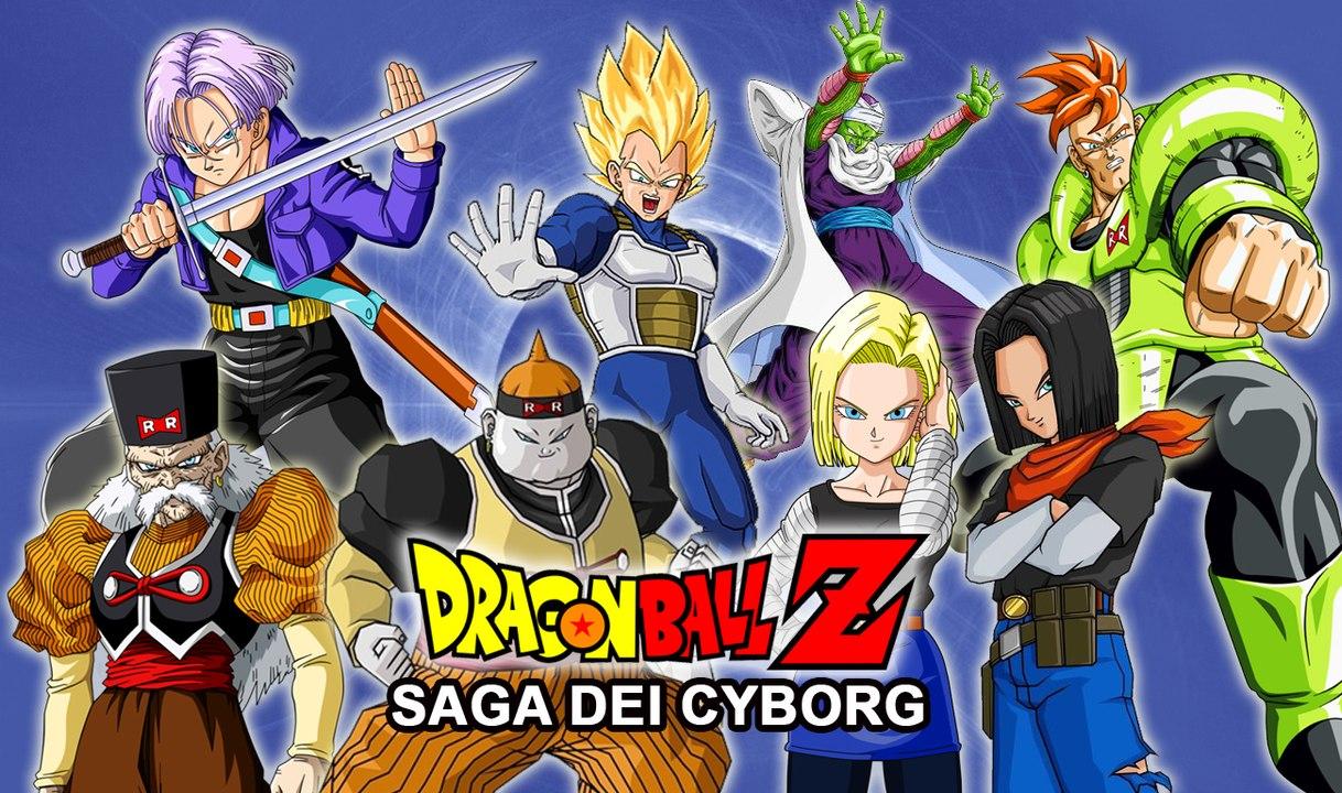 Dragoball z saga cyborg in 8 minuti! video dailymotion