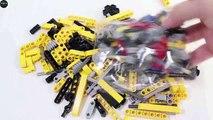 Lego Technic: Lego Bulldozer - Lego Building Guide/ Légo consignes de montage d'automobiles bulldozers