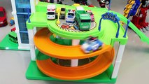 Tayo the Little Bus Friends Parking English Learn Numbers Colors Play Doh Toy Surprise Toys YouTub