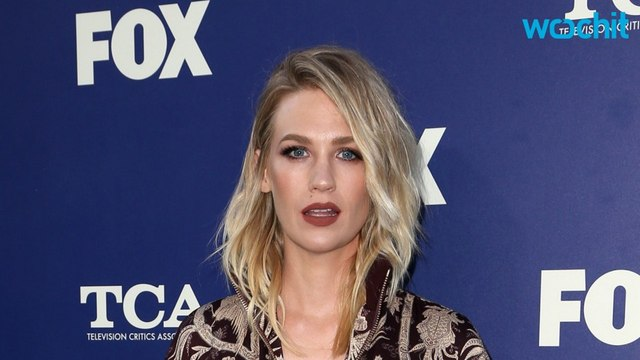 January Jones Talks About Being a Single Mom