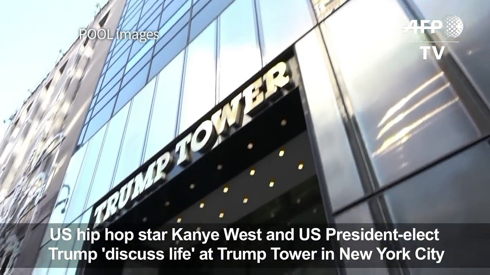 Kanye West visits Trump at Trump Tower-orhvZQK3J0c