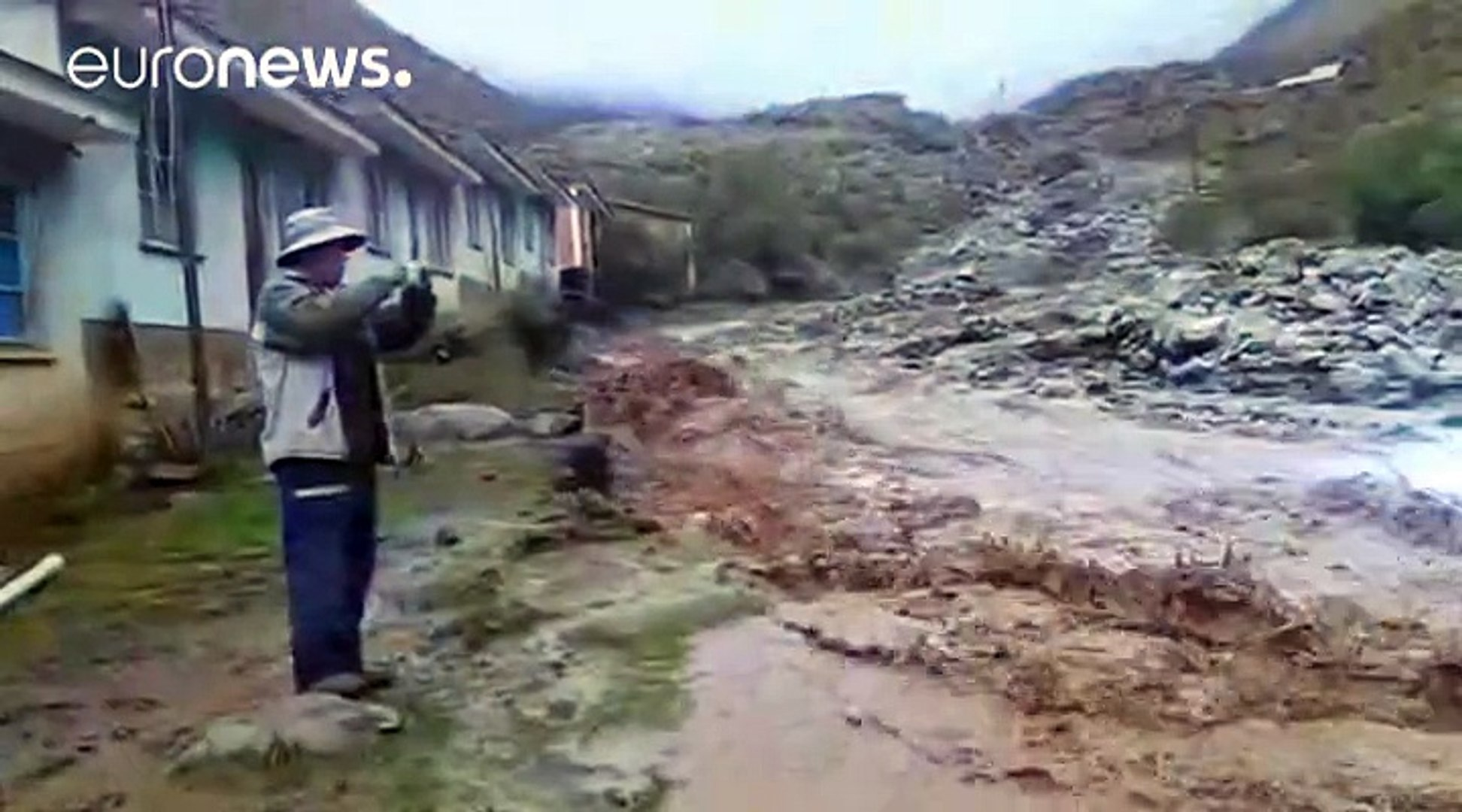 Deadly floods in Bolivia