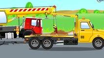 Der Rot Lastwagen Und Der Traktor Lehrreicher