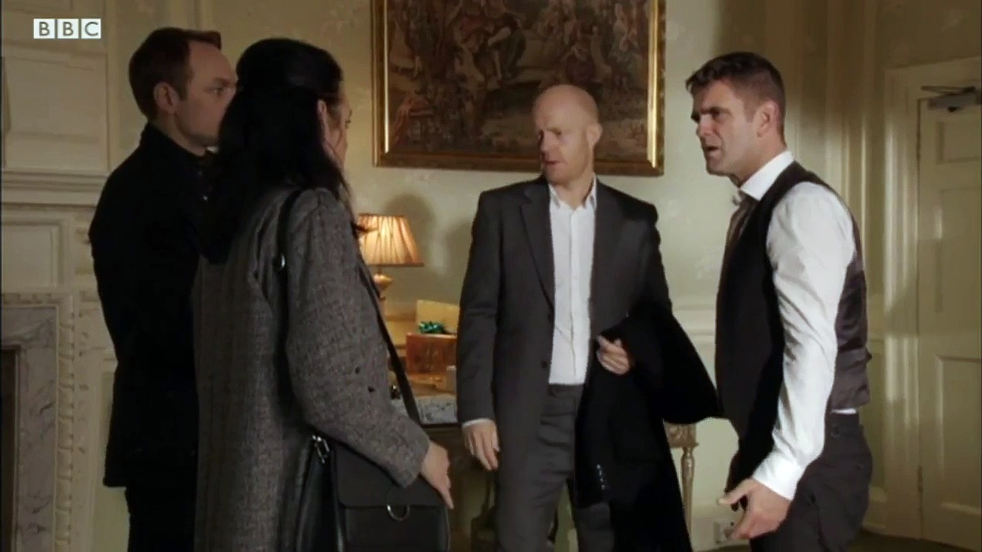 Eastenders - Jack Finds Out That Ronnie Died - Monday 2nd January 2017