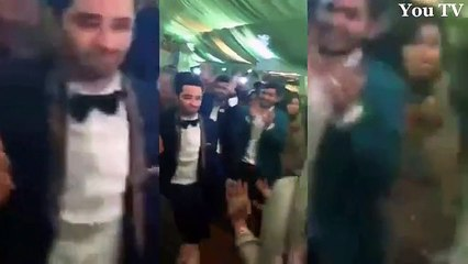 Noman Habib and Asma dance performance in their own wedding which is full of life