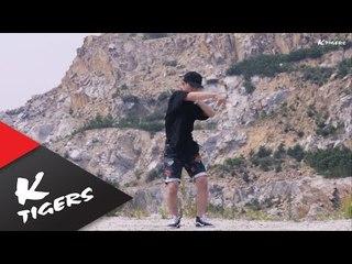 강건우의 크럼프 댄스! microdot - wave feat. lilboy Ravi(vixx)