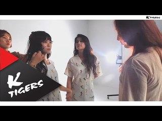 BNT photo shoot with Taemi and Minzy~ 태미와 민지의 BNT 화보촬영~