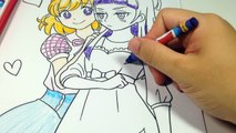 魔法使いプリキュアぬりえ クレヨン練習 - Coloring Maho GIRLS PR