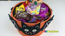 Learn to Count with Candy Skittles M&M Snickers Butterfinger Shopkins Egg Surprise Toys learn