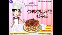 Saras Cooking Games - Saras Chocolate Cake