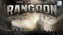 Shahid Kapoor's 'Rangoon' FIRST LOOK Out   Kangana Ranaut   Saif Ali Khan   LehrenTV