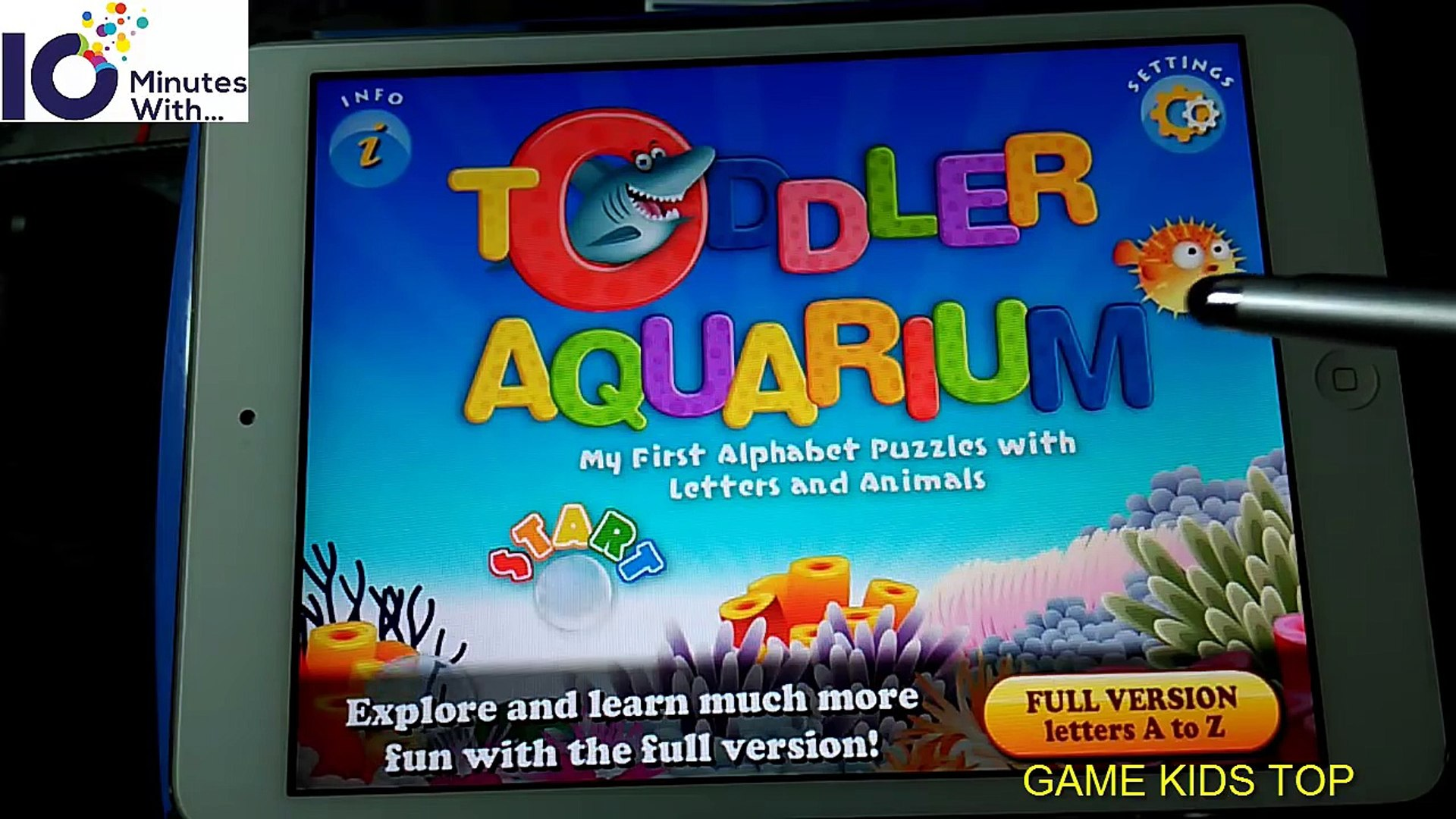 Kids First Alphabet Puzzles   Letters and Animals with Toddler Aquarium education app for Kids