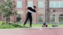 Nose Manual Nollie Flip to Fakie Manual Fakie Tre Out!! - WTF! - Nick Steenbeke