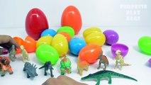 3D Dinosaur Surprise Eggs Opening Dinosaur Toys | Color Surprise Eggs Fun Toy Videos for kids