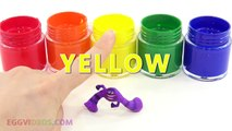 Learn Colors Finger Hand TOP Colors Finger Family Nursery Rhymes Compilation Body Paint Collection