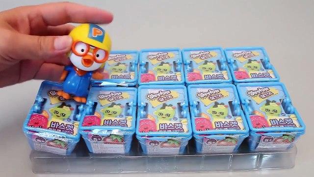 Shopkins Blind Baskets Toys #2 샾킨즈 바구니 랜덤 캐릭터와 뽀로로 타요 폴리 장난감 YouTube