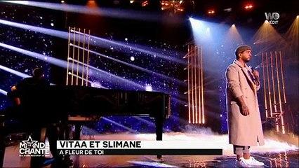 """Slimane et Vitaa chantent """"A fleur de toi"""" en live"""