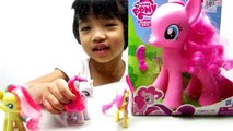 MLP Video Pinkie Pie, Fluttershy, Rarity- Playtime Story with Krisabella - Kiddie Toys