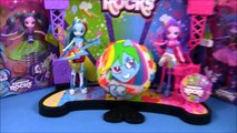 MY LITTLE PONY Giant Play Doh Surprise Eggs Rainbow Dash Sunset Shimmer Spitfire MLP Episode SETC