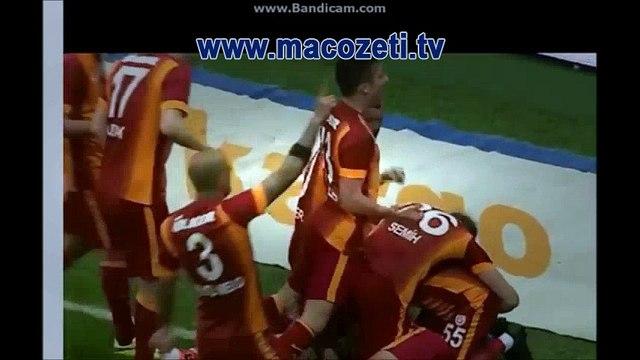 Galatasaray - Beşiktaş 2-0 Maç Özeti 24 Mayıs 2015 | www.macozeti.tv