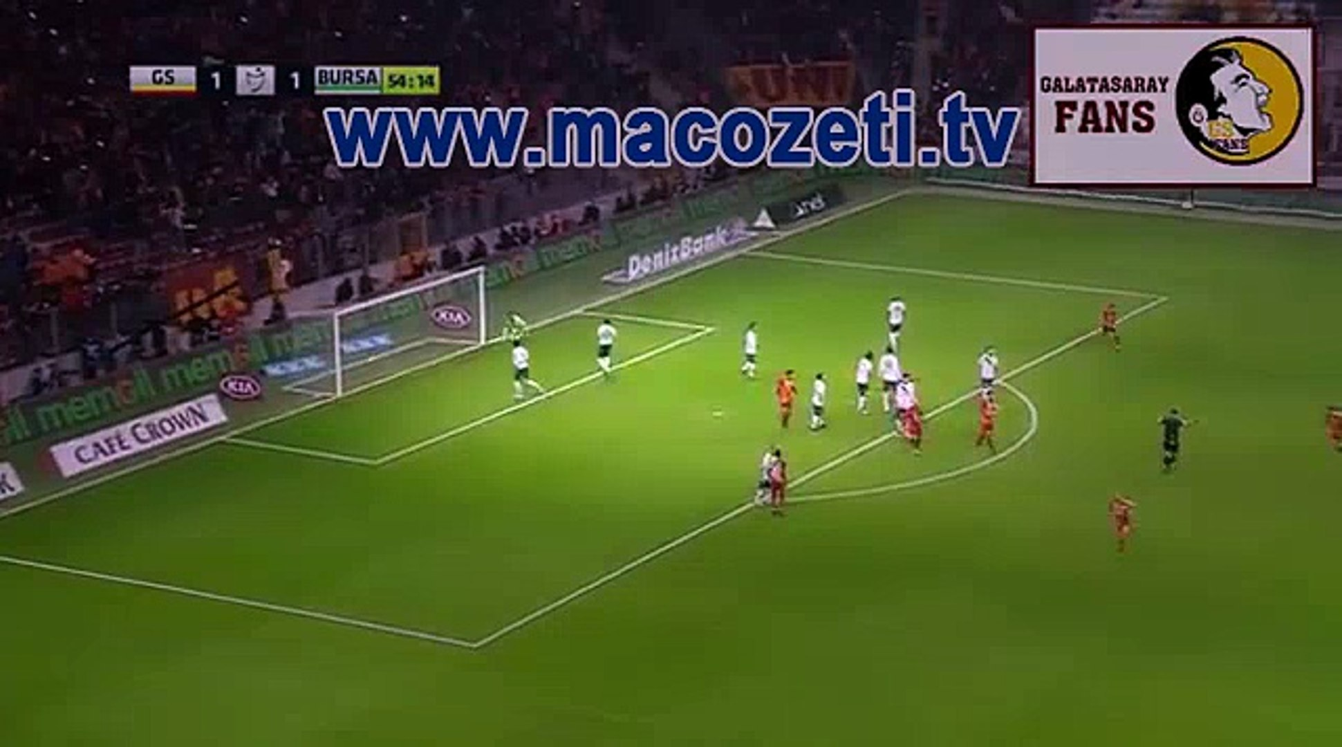 25.11.16 bursa- galatasaray mac ozeti ve goller [HD] | www.macozeti.tv