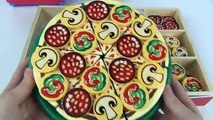 Pizza Party Melissa Doug Wooden Pizza Slice Cut Play