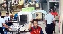 Un pilote d'avion filmé totalement bourré à son passage au contrôle d'un aéroport !