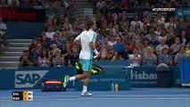 ATP Brisbane: Alexandr Dolgopolov - Rafael Nadal (Özet)