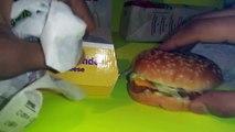 McDonalds Fish Sandwich VS Checkers Fish Sandwich
