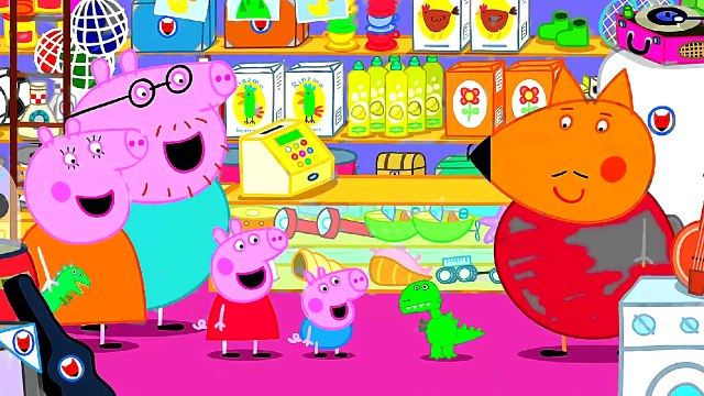 Peppa Pig Shopping New Mr. Dinosaur Coloring Pages Peppa Pig Coloring Book