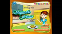 Saras Cooking Games - Saras Vegetable Fritata