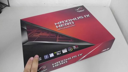 ASUS ROG MAXIMUS IX HERO Motherboard Unboxing and Overview