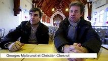 Rencontre avec les deux grands reporters Christian Chesnot et Georges Malbrunot au lycée Saint-Dominique de Pau