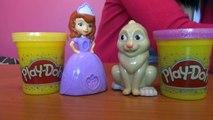 Księżniczka Zofia i uszaty - Zabawki Dla Dzieci - Kreatywne - Disney - zabawki Disney - Ciastolina