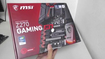 MSI Z270 GAMING M7 Motherboard Unboxing and Overview
