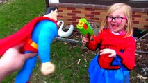 Evil Superman Baby VS Spidergirl | Superbaby Turns Evil In Real Life