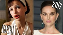 Natalie Portman (1994-2017) all movies list from 1994! How much has changed! Before and After! Léon, Black Swan, V for Vendetta, Closer, Star Wars