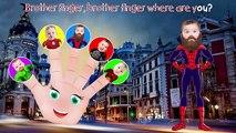 Superhero Hulk Spiderman Ironman Batman Little Babies Finger Family Songs Nursery Rhymes Lyrics
