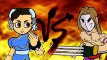 Street Fighter V s Weird Fighting Styles (Street Fighter V Cartoon Animation)